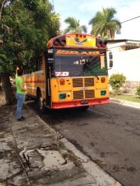 El Salvador bus