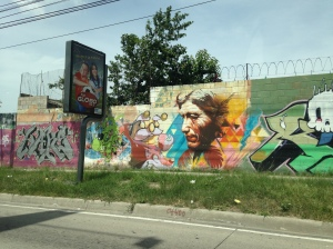 El Salvador graffiti