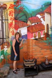 El Salvador mural me