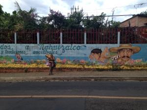 El Salvador mural